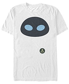 Disney Pixar Men's Wall-E Eve Big Face Costume Short Sleeve T-Shirt