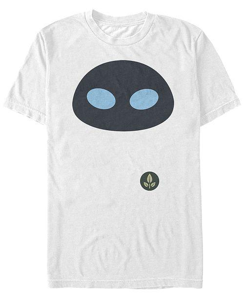 Fifth Sun Disney Pixar Men's Wall-E Eve Big Face Costume Short Sleeve T-Shirt