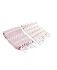 Bodrum / Datca Turkish Hand Towel 2 Piece Set