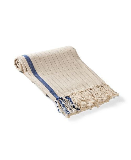 Olive and Linen Harlow Turkish Towel / Throw