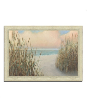 "Tangletown Fine Art Beach Trail I by James Wiens Framed Painting Print, 42"" x 30"""