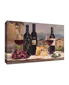 "Villa Reds by Marilyn Hageman Fine Art Giclee Print on Gallery Wrap Canvas, 45"" x 30"""