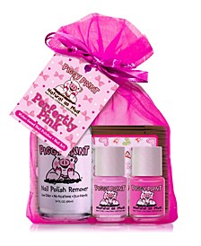 Perfectly Pink Nail Polish and Remover Set