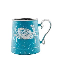 Speckled Crab Decal Beer Mug