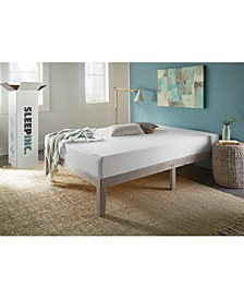 "SleepInc 8"" Support and Comfort Medium Firm Memory Foam Mattress- Twin"