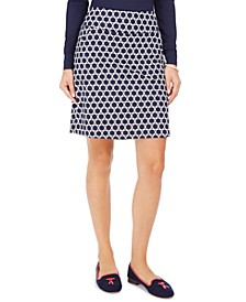 Printed Skort, Created For Macy's