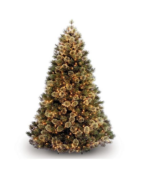 National Tree Company 7.5 ft. Wispy Willow Tree with Clear Lights