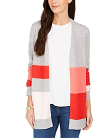 Colorblocked Knit Cardigan, Created For Macy's