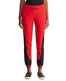 Petite Terry Track Pants, Created for Macy's