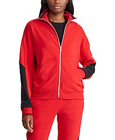 Petite Terry Track Jacket, Created for Macy's