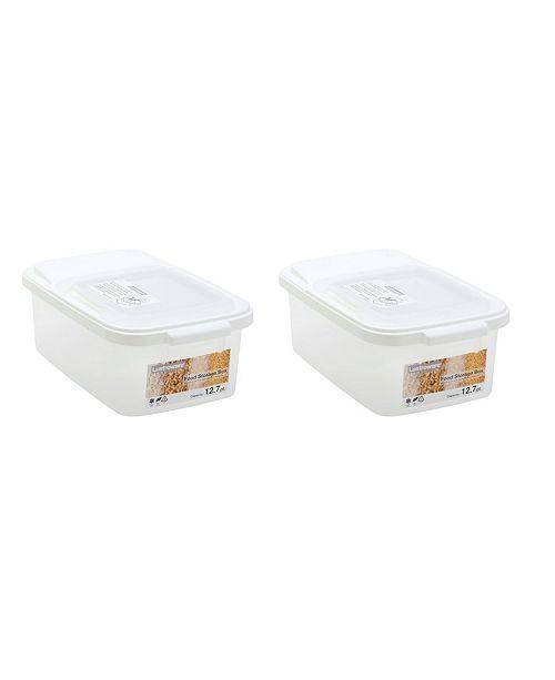 Lustroware Food Storage Boxes, 5 gal - Set of 2