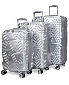 Contour 3-Pc. Expandable Hard Spinner Luggage Set