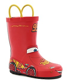 Little Kid's and Big Kid's Lightning McQueen Rain Boot