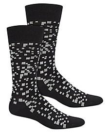 Men's Pixel Socks, Created for Macy's