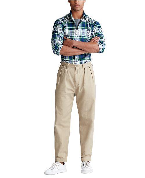 Polo Ralph Lauren Men's Performance Flannel Long Sleeve Shirt