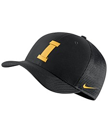 Iowa Hawkeyes Aerobill Mesh Stretch Fitted Cap