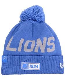 Detroit Lions Road Sport Knit Hat