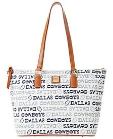 Dallas Cowboys Doodle Wren Zip Tote