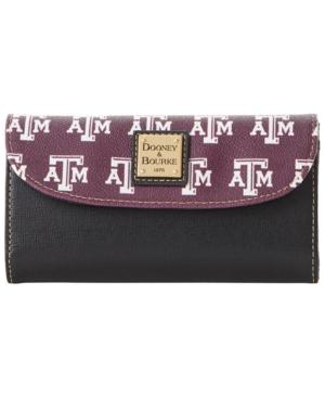 Texas A & M Aggies Saffiano Continental Clutch