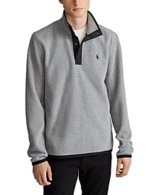Men's Fleece Mockneck Pullover
