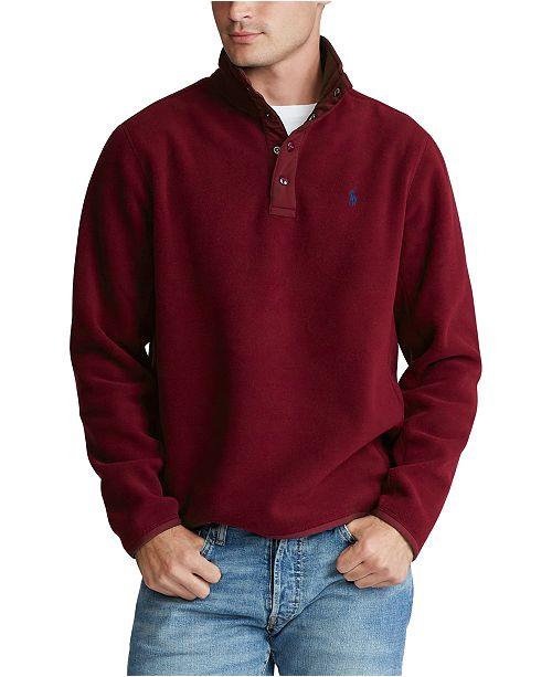 Polo Ralph Lauren Men's Fleece Mockneck Pullover