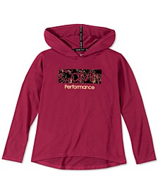 Big Girls Logo-Print Hooded T-Shirt