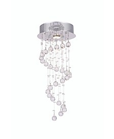 Spiral 1 Light Flush Mount