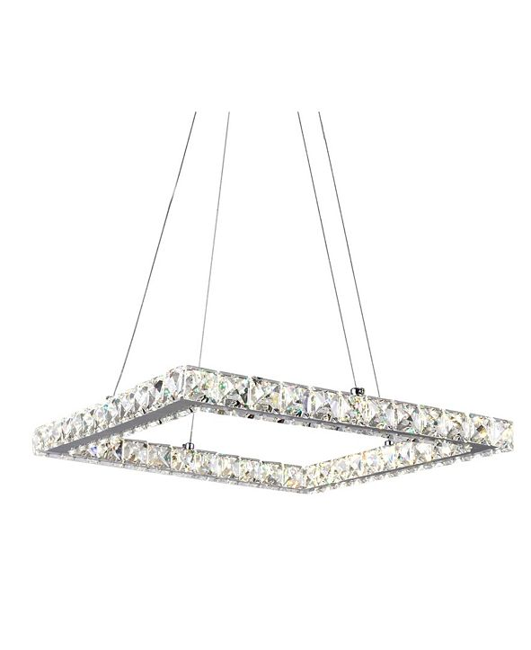 CWI Lighting Ring LED Chandelier