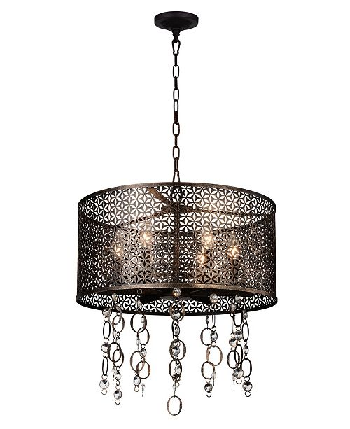 CWI Lighting CLOSEOUT! Pollett 6 Light Chandelier