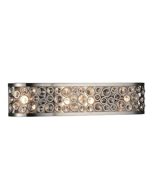 CWI Lighting CLOSEOUT! Wallula 4 Light Wall Sconce