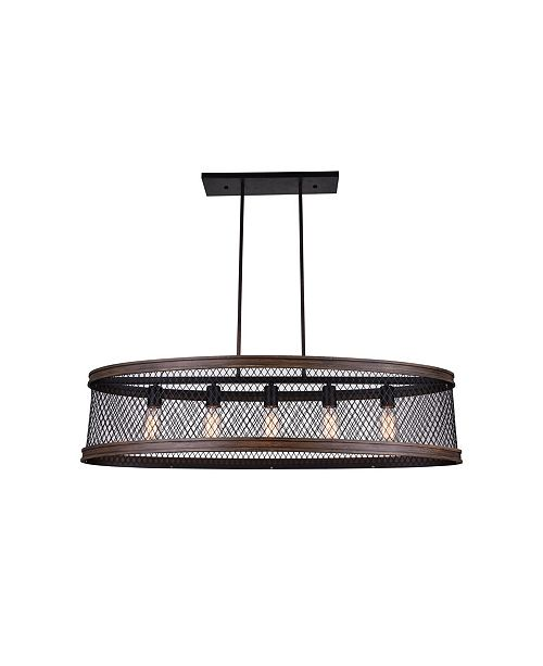 CWI Lighting CLOSEOUT! Torres 5 Light Chandelier
