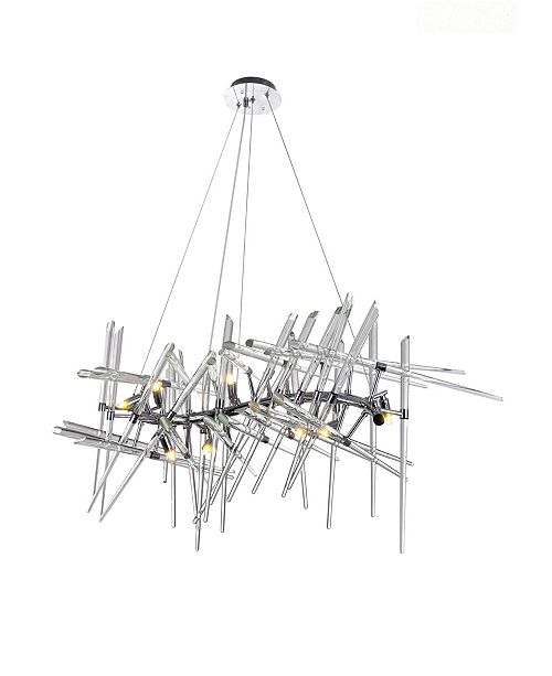 CWI Lighting Icicle 10 Light Chandelier