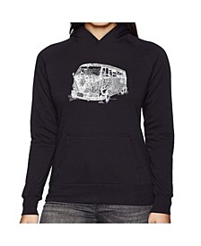 Women's Word Art Hooded Sweatshirt -The 70's