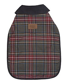 Grey Stewart Plaid Dog Coat, Small