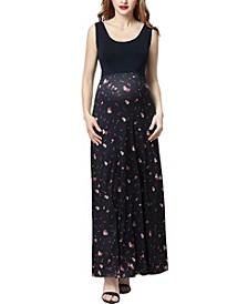 Briar Maternity Floral Print Maxi Dress