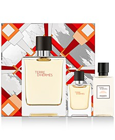 Men's 3-Pc. Terre d'Hermès Eau de Toilette Gift Set