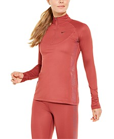 Women's Pro Warm Half-Zip Running Top