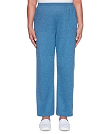 Petite All About Ease Knit Pull-On Pants