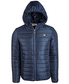 Men's Pavo Quilted Hooded Jacket