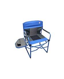 Heavy Duty Ultra Portable Folding Director Mesh Camp Chair