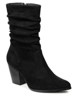 Catherine Malandrino Sparky Bootie Women's Shoes In Black