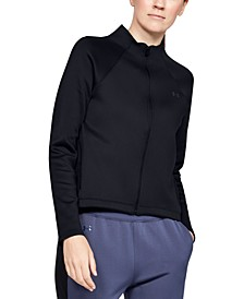 ColdGear® Mock-Neck Zip Training Top