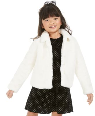 Toddler Girls Faux Fur Jacket, Created For Macy's