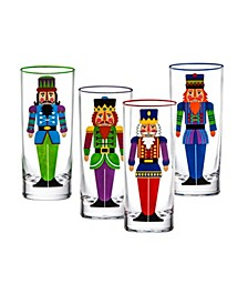 Nutcracker Highball - Set of 4