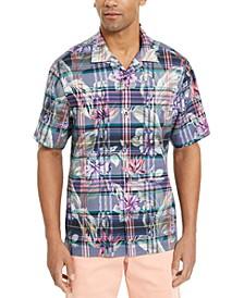 Men's Huladays Plaid Camp Shirt