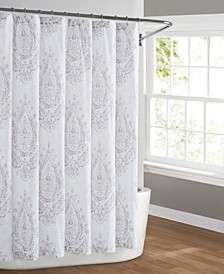 Paisley Blossom Shower Curtain
