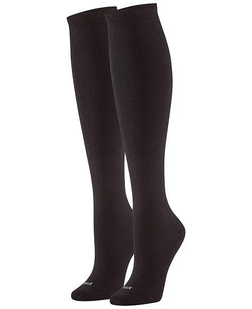 Hue Women's 3-Pk. Massaging Sole Knee Sock