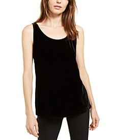 Sleeveless Scoop-Neck Top
