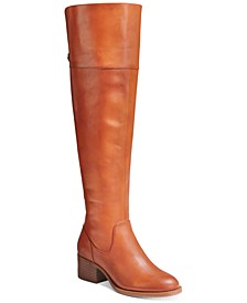 INC Women's Karmenn Riding Boots, Created for Macy's