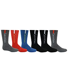 Big Boys 6-Pk. Crew Socks